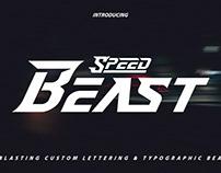 Speed Beast Display Font