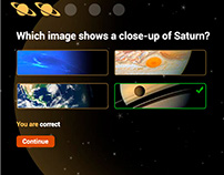 Interactive Quiz of Saturn