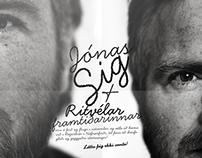 Jónas Sig tónleikaposter / Jónas Sig concert poster