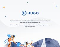 Hugo.team- Notes App Platform. Features Presentation UI