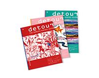 Magazine coverdesign - Detour