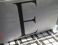 Type Alphabet Pattern Zine