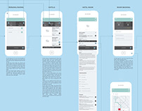 UX DESIGN OF A BOOKING MOBILE APPLICATION