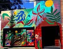 Pintura fachada _ Restaurante Manu Buffara