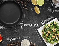 Site Horacio`s Bistrô