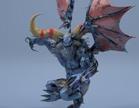 Render - Blue Monster
