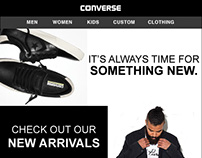 Converse New Arrivals Email