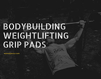 Bodybuilding Weightlifting Grip Pads