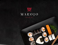 Makojo Sushi - Logo & Branding