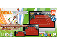 HTML5 Game: Real Tennis