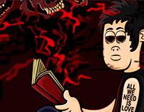 'El maldito perro del infierno' - CANSERBERO