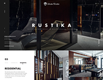 Rustika Web Design / Layout