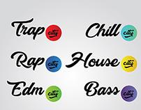 Trap city new logos