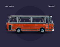 Bus Station Website