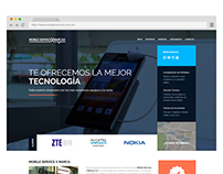Sitio Web - Mobile Services X Marca