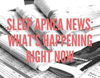 Sleep Apnea News: What's Happening Right Now