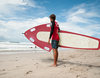 RAY - Biomaterial lifeguard rescue board