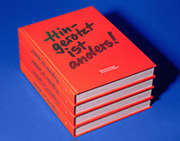 "Book Cover ""Hingerotzt ist anders!"""