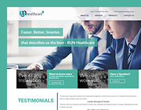 Healthcare Professionals Web Template