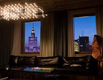 Weronika's room, Hotel Warszawa, January 2019