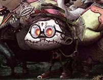 Dead or Alive Card Game - Illustrations Part 2