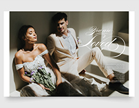 You are Loved - Wedding Ideas Editorial Magazine Layout
