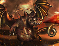 Hellfire Skaarf - Vainglory (fanart)