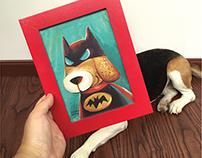 My sweet super beagle !