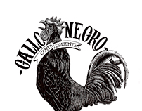 Gallo Negro Illustration