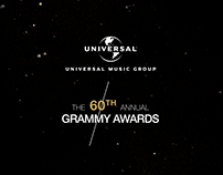 Universal Music Group - 60th Grammy Campaign
