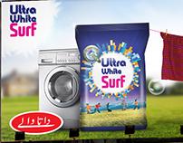 Ultra White Surf Hoarding Options