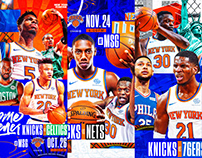 New York Knicks 2019-20 Season Tickets Creative