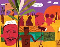 Gandhi for Shelf Heroes Magazine