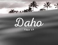 DAHO SURF CO / Branding