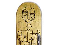Skate Art @drhofmann27 x @matdisseny (cadaver exquisit)