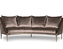 GEISHA Sofa | By KOKET