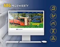 Strona www dla ABG Przewierty