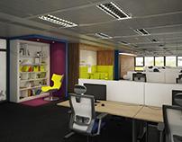 Office design - KPMG IT office