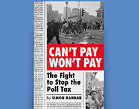 Book cover: Can't Pay Won't Pay by Simon Hannah