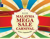 Press Ad - Mega Sale Carnival