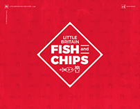Little Britain Fish and Chips - Logo design