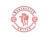 Manchester United Logo - Minimalism