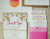 J + L Wedding Invitation