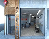 Store renovation proposal_Exarchia-Athens