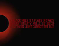 Notevenlight, a blackhole design