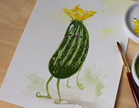 Daily Watercolours - Part One
