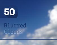 50 Blurred Clouds