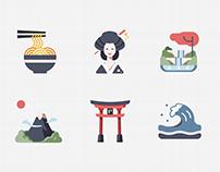 Japan - Flat icon