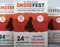 Flyer Indie Fest