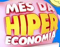 Campanha Mês da Hiper Economia